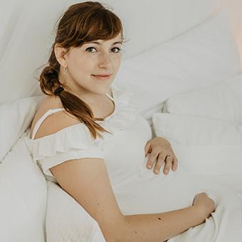 Těhotenské | V ateliéru