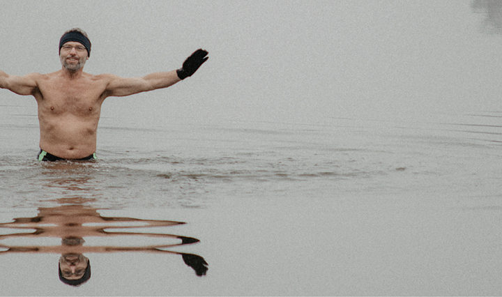 Pavel z ledu v Hluboké nad Vltavou